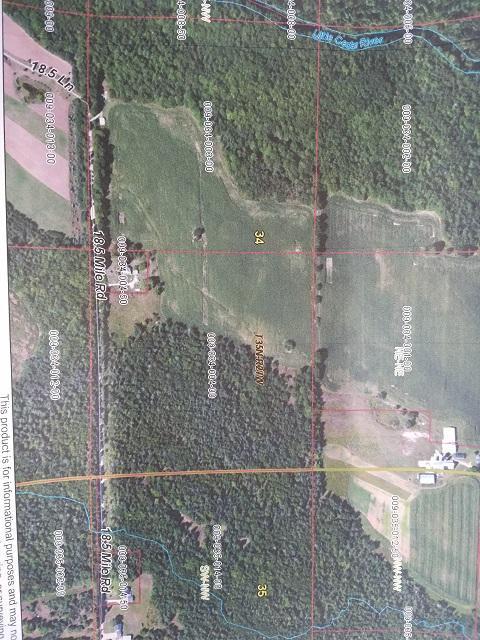 View Vacant Land For Sale at W5770 +/- 18.5 Ln, MELLEN, MI
