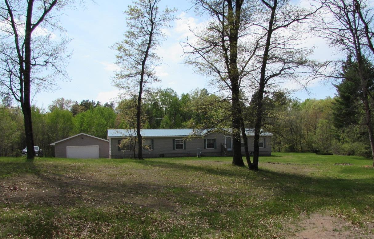 View Single-Family Home For Sale at N11349 Deer Lake Rd, Athelstane, WI