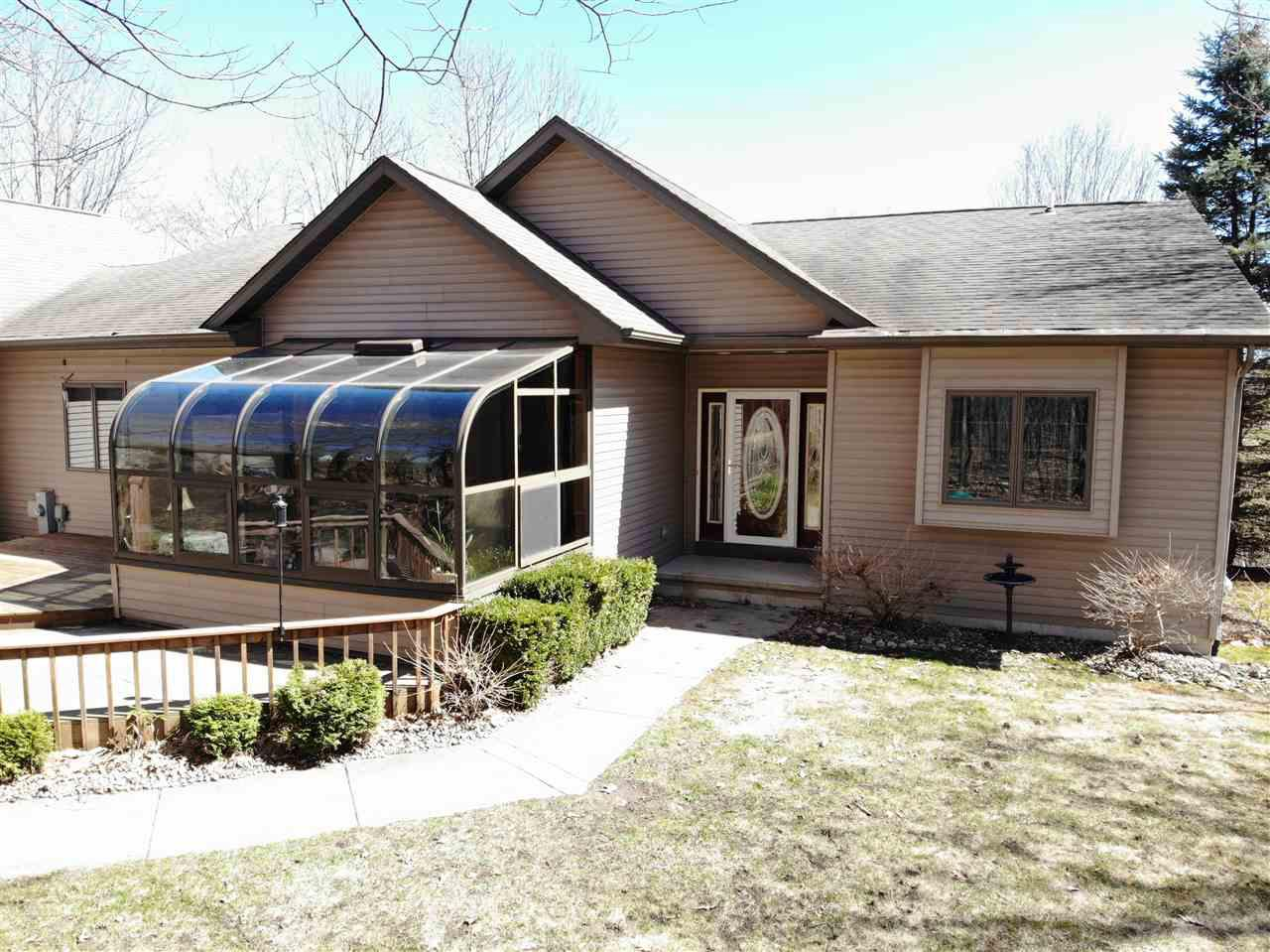 View Single-Family Home For Sale at W7597 HIGHVIEW COURT, Shiocton, WI