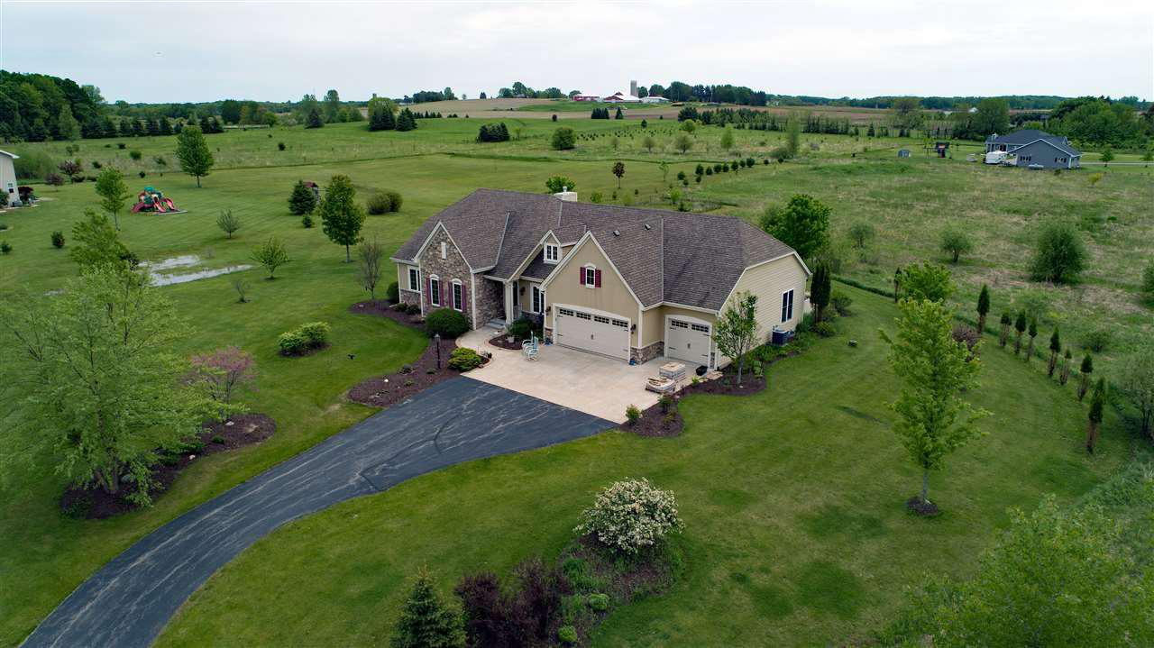 View Single-Family Home For Sale at W6495 KLIKA ROAD, Shiocton, WI
