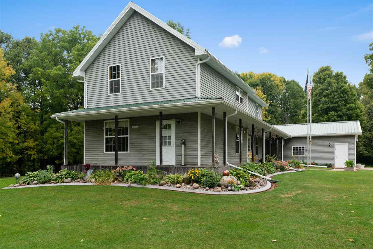 View Single-Family Home For Sale at 13400 WILLOW ROAD, Suring, WI