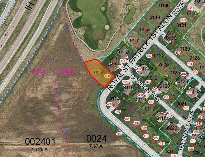 View Vacant Land For Sale at 508 ROYAL ST PATS DRIVE, Wrightstown, WI