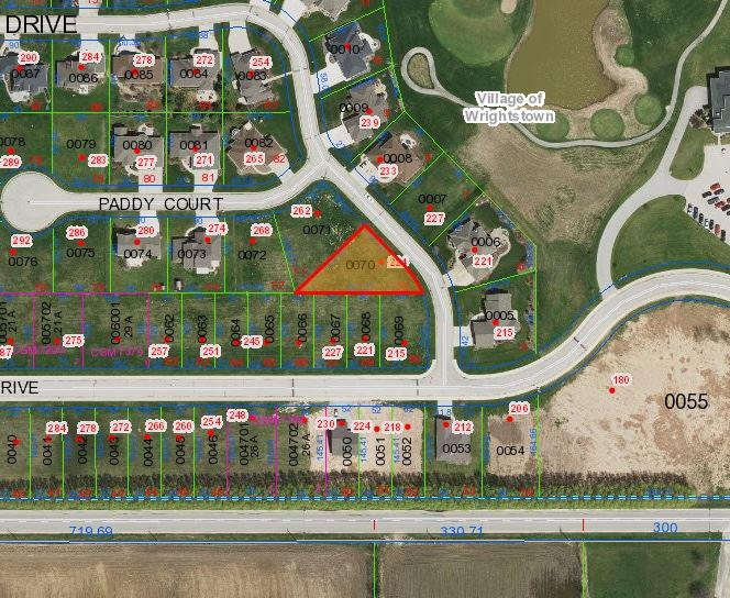 View Vacant Land For Sale at 224 PETERLYNN DRIVE, Wrightstown, WI