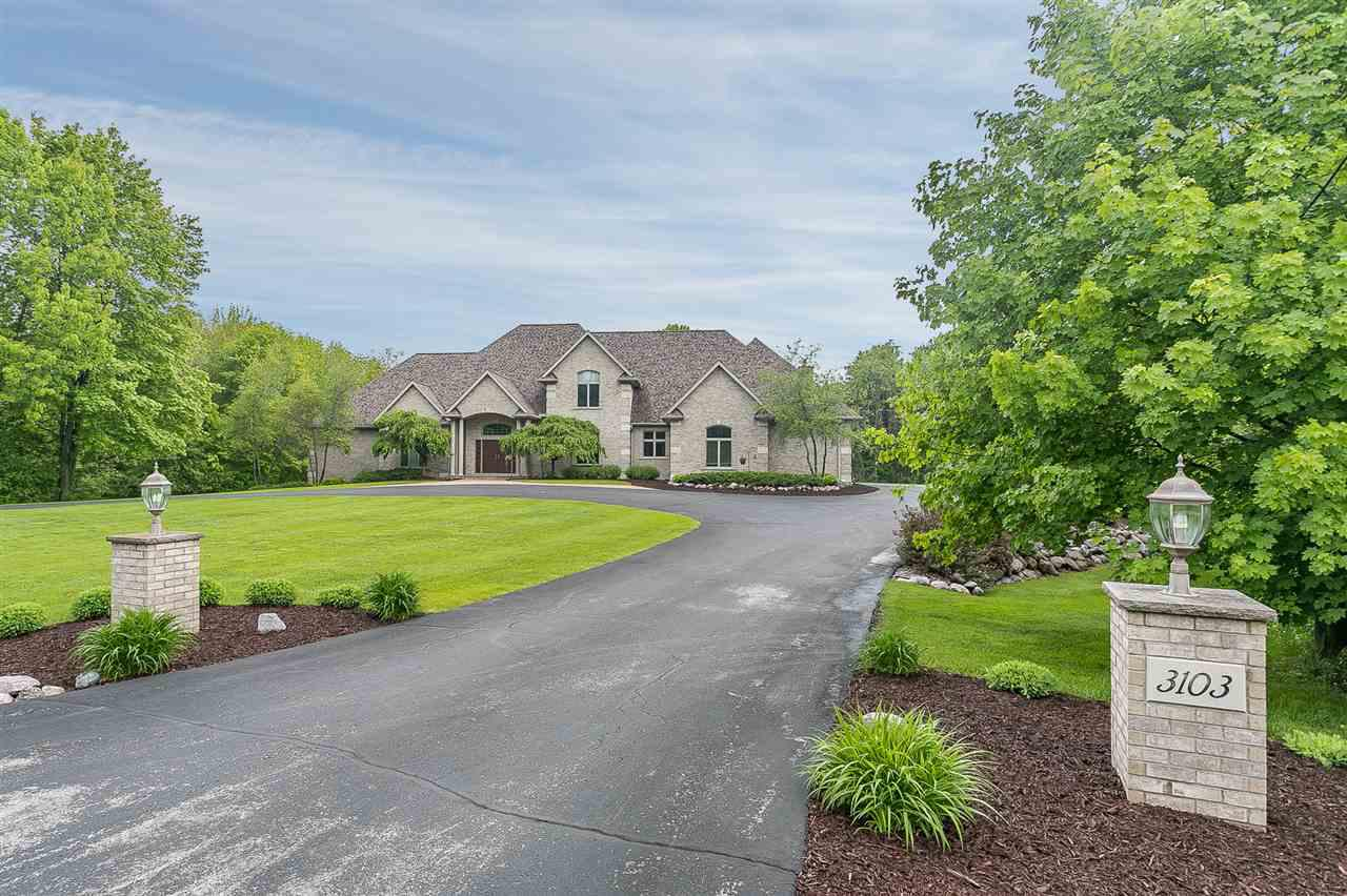 View Single-Family Home For Sale at 3103 N BROOK HILLS DRIVE, Green Bay, WI
