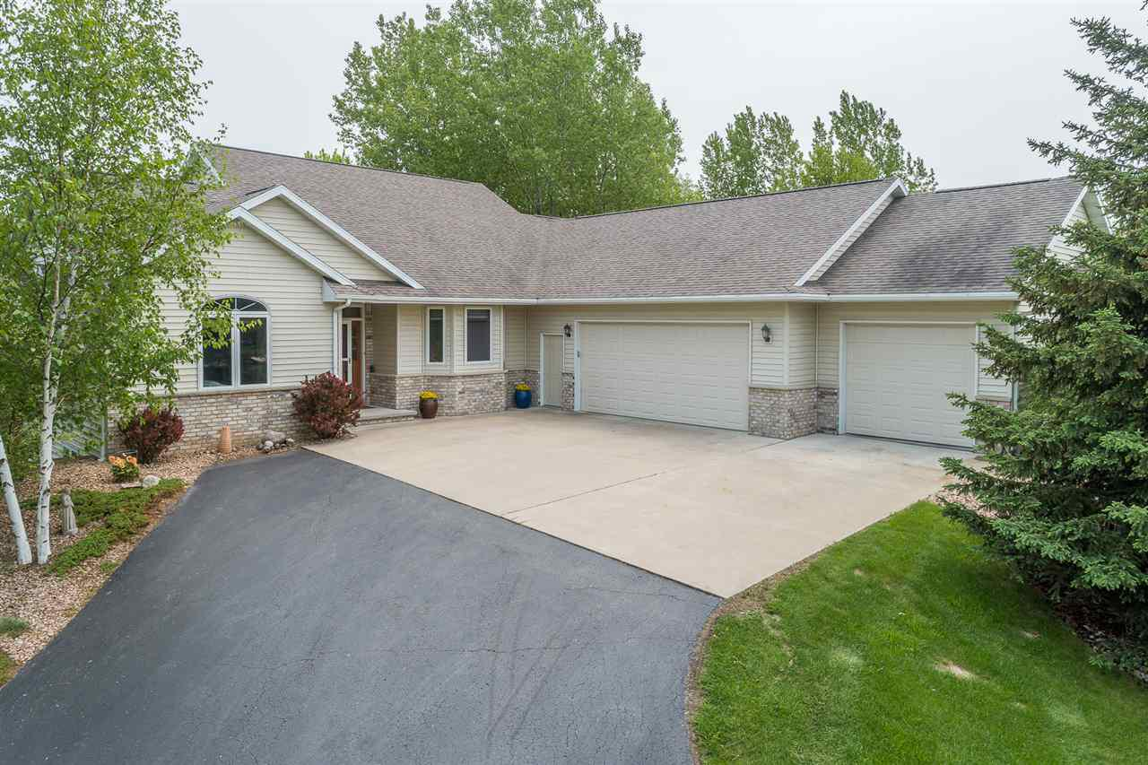 View Single-Family Home For Sale at W3784 WILLOW BROOK COURT, Appleton, WI
