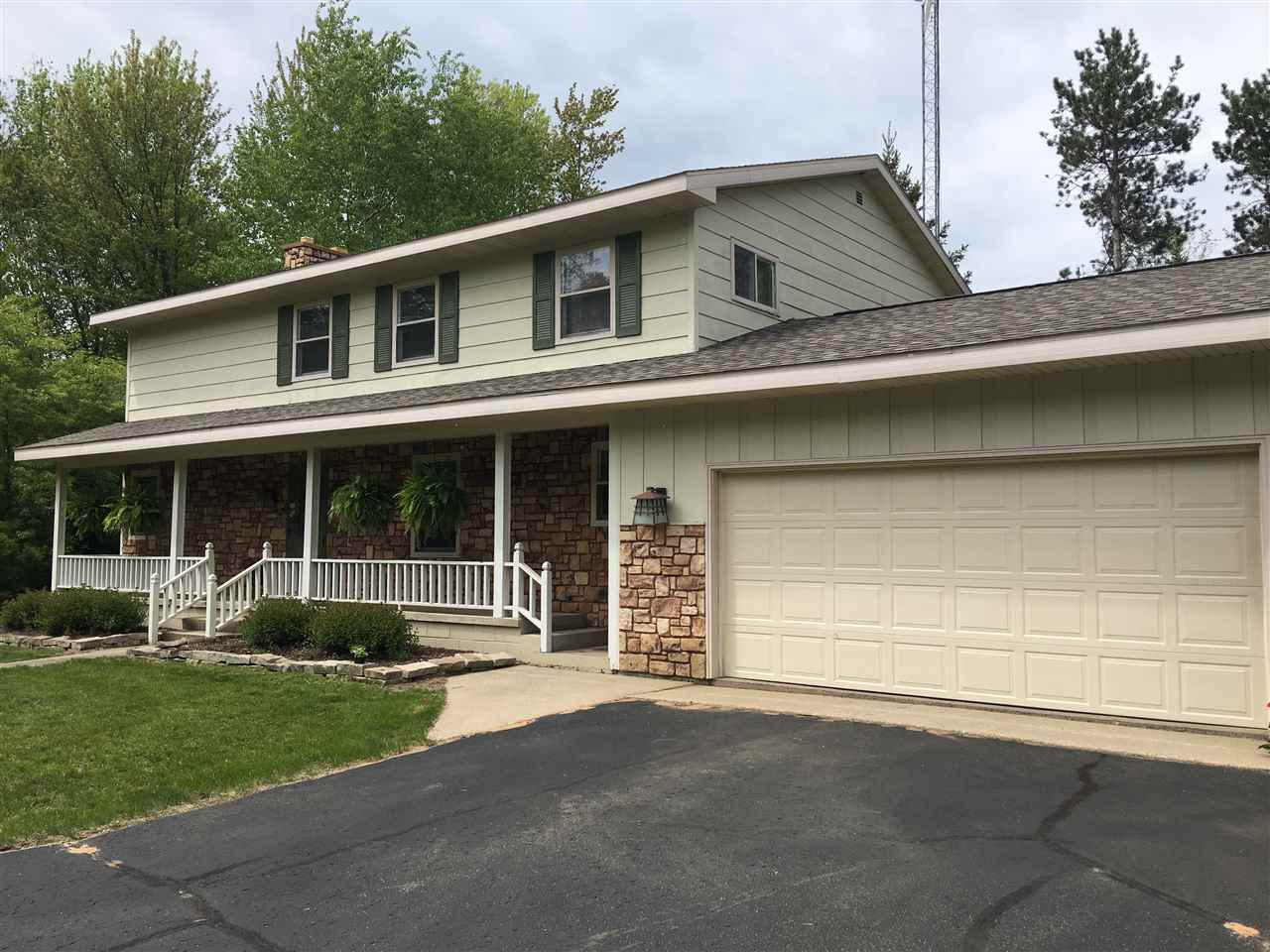 View Single-Family Home For Sale at W924 RADER ROAD, Marinette, WI