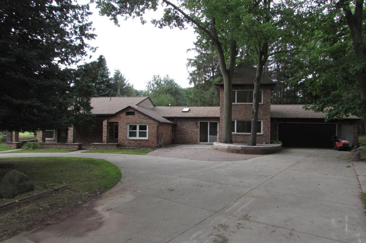 View Single-Family Home For Sale at N7779 Noquebay Rd, Crivitz, WI