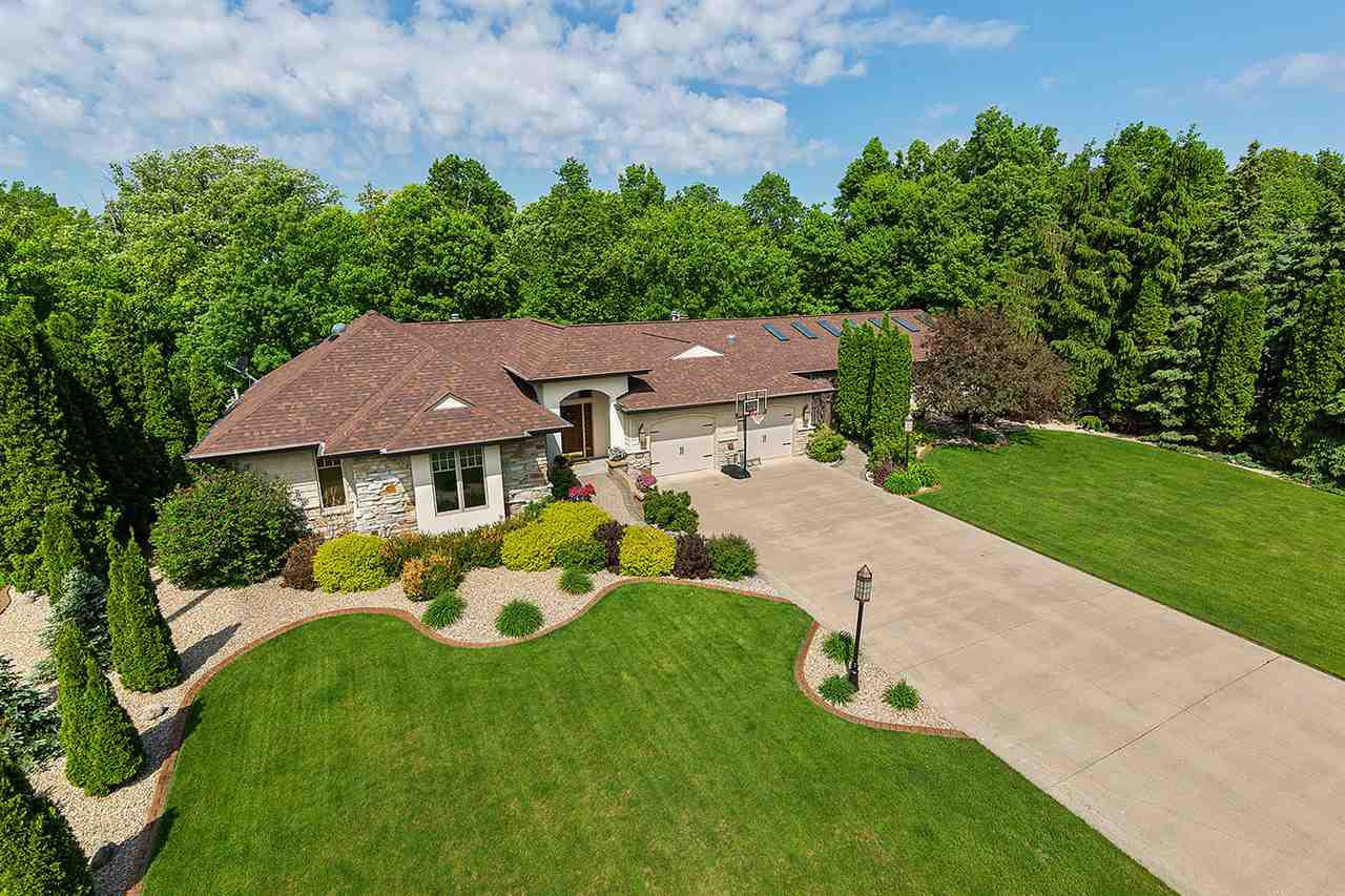 View Single-Family Home For Sale at 106 EDGEWOOD LANE, Combined Locks, WI