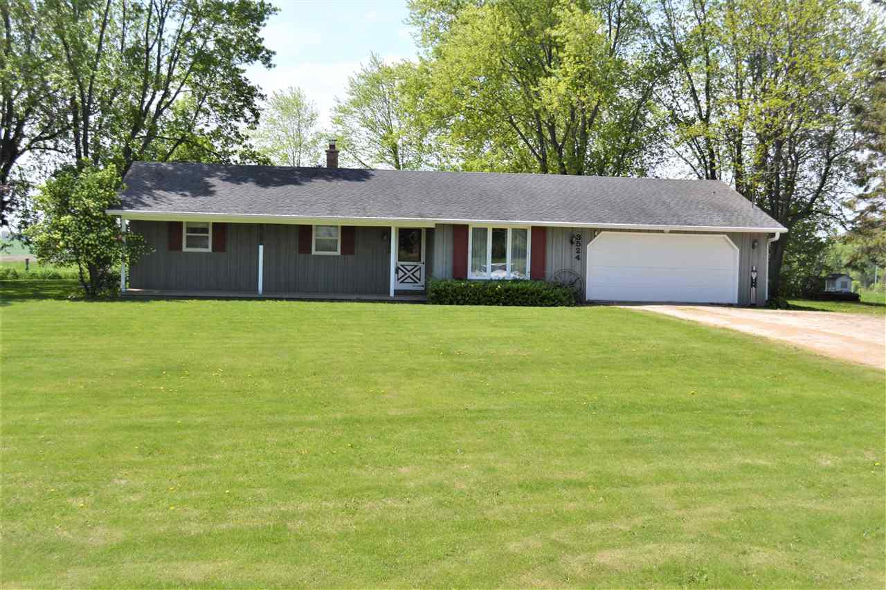 View Single-Family Home For Sale at 3524 PARK ROAD, Greenleaf, WI