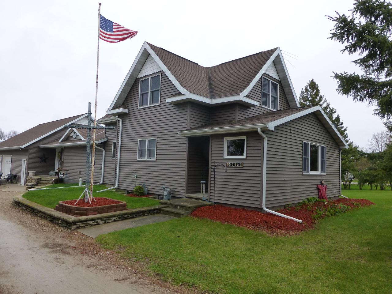 View Single-Family Home For Sale at N3464 Highway 141, Pound, WI
