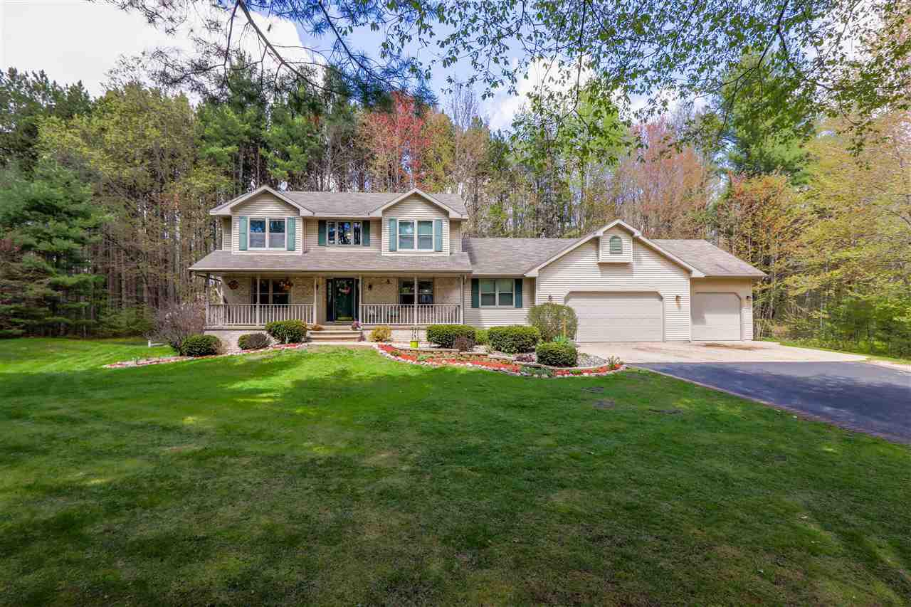 View Single-Family Home For Sale at 1778 ROBERTS LANE, Abrams, WI