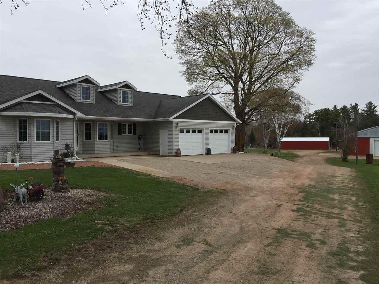 View Single-Family Home For Sale at 10220 BRAZEAU TOWN HALL ROAD, Pound, WI