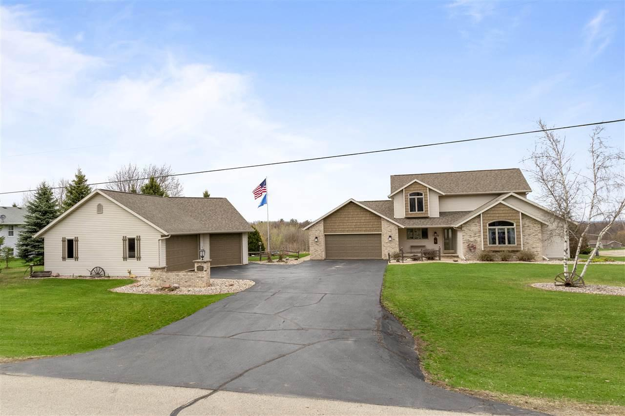 View Single-Family Home For Sale at W7278 KIRSCHNER ROAD, Shiocton, WI