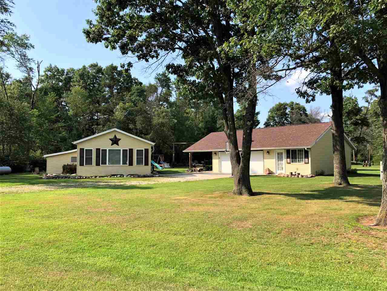 View Single-Family Home For Sale at W11836 S PINE ROAD, Crivitz, WI
