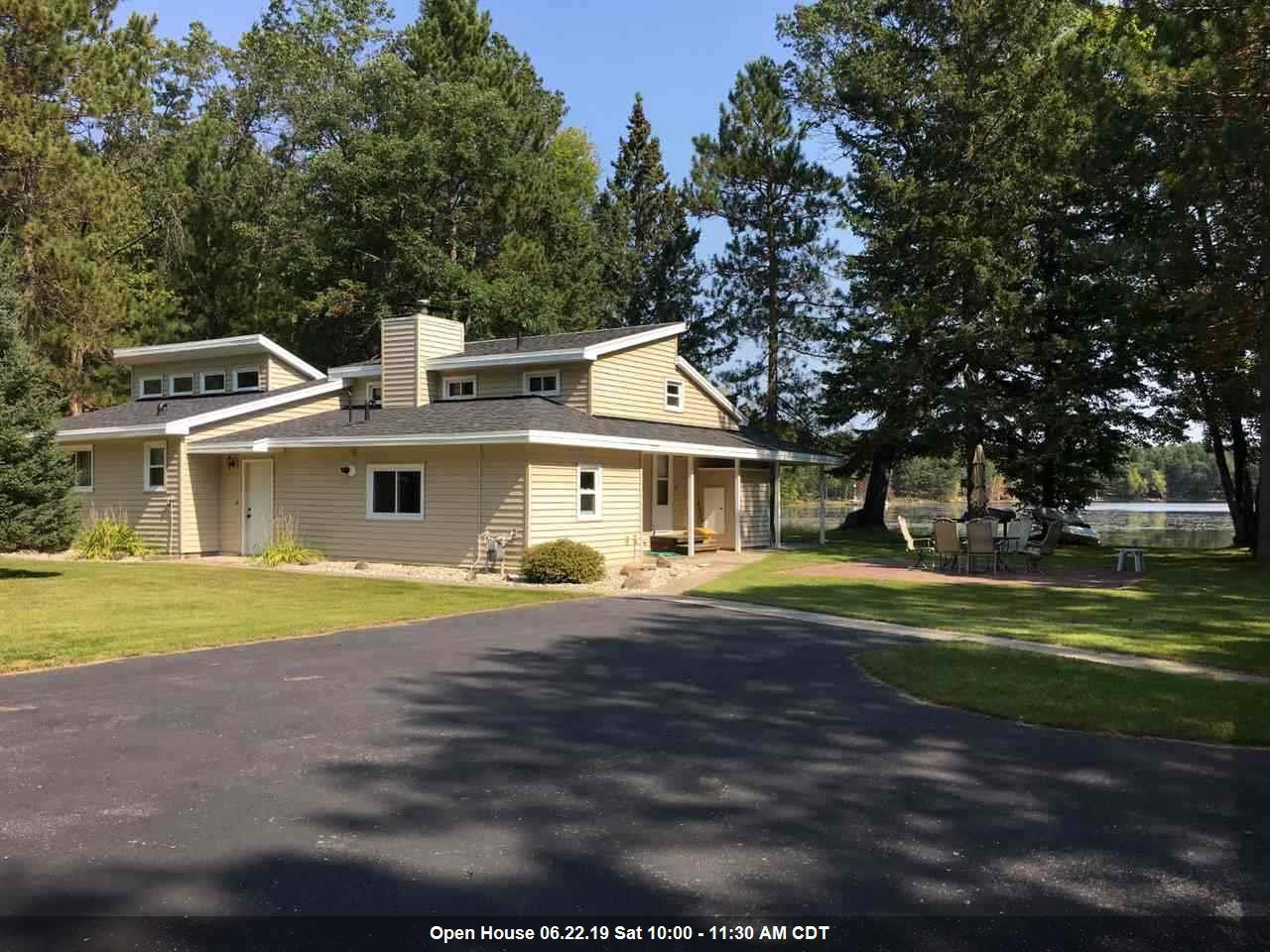 View Single-Family Home For Sale at 9171 HALF MOON LAKE ROAD, Pound, WI
