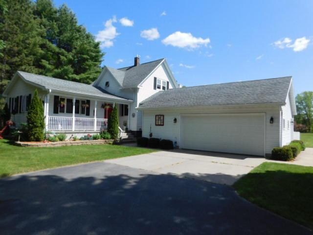 View Single-Family Home For Sale at W713 Rader Rd, Marinette, WI