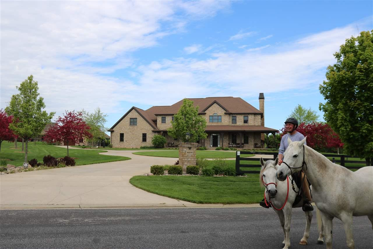 View Single-Family Home For Sale at W3586 EQUESTRIAN TRAIL, Appleton, WI