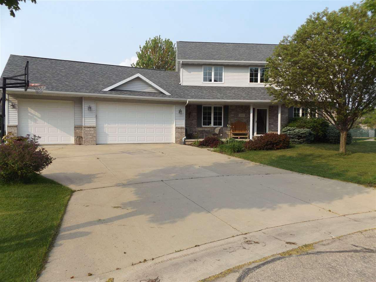 View Single-Family Home For Sale at 142 OMBRE ROSE DRIVE, Combined Locks, WI