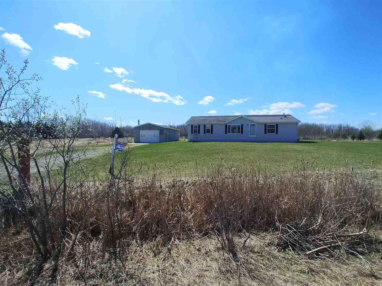 View Single-Family Home For Sale at W836 COOPER ROAD, Oneida, WI