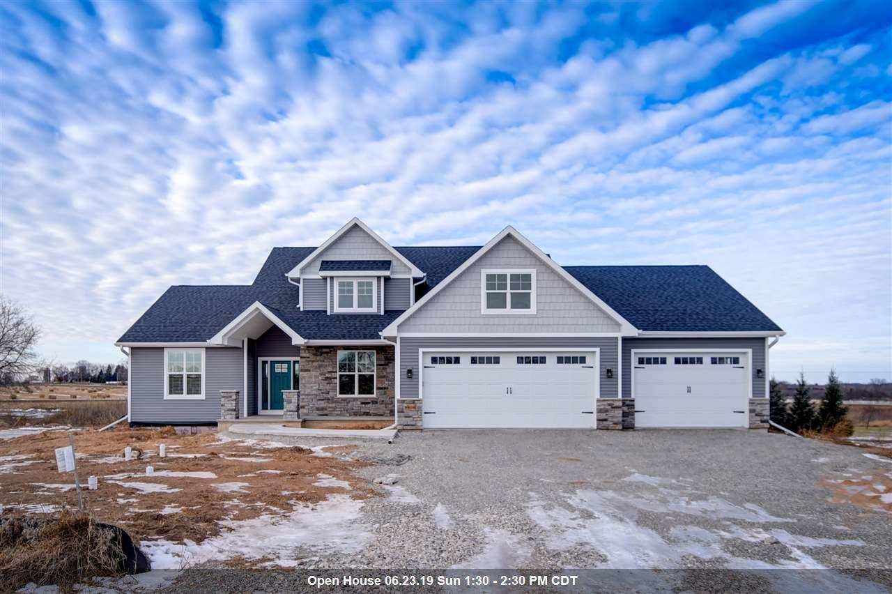 View Single-Family Home For Sale at W6056 AUTUMN MIST TRAIL, Appleton, WI