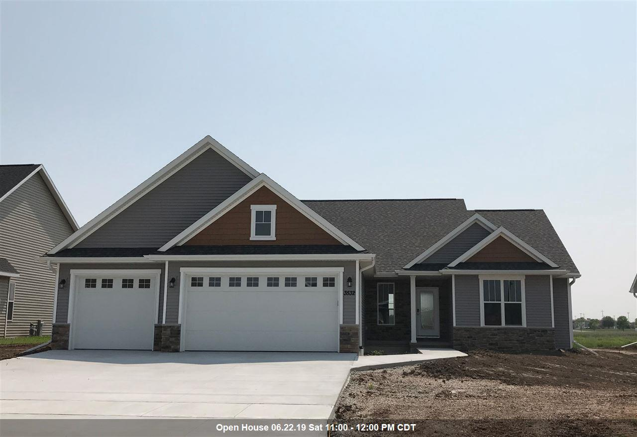 View Single-Family Home For Sale at 3532 TULIP TRAIL, Appleton, WI