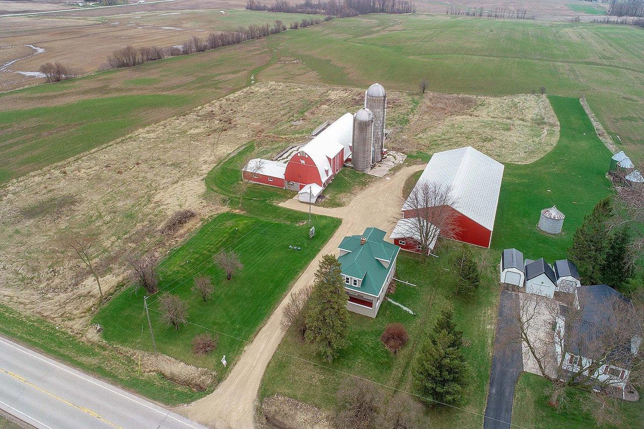 View Single-Family Home For Sale at 1884 Hill Rd, Greenleaf, WI