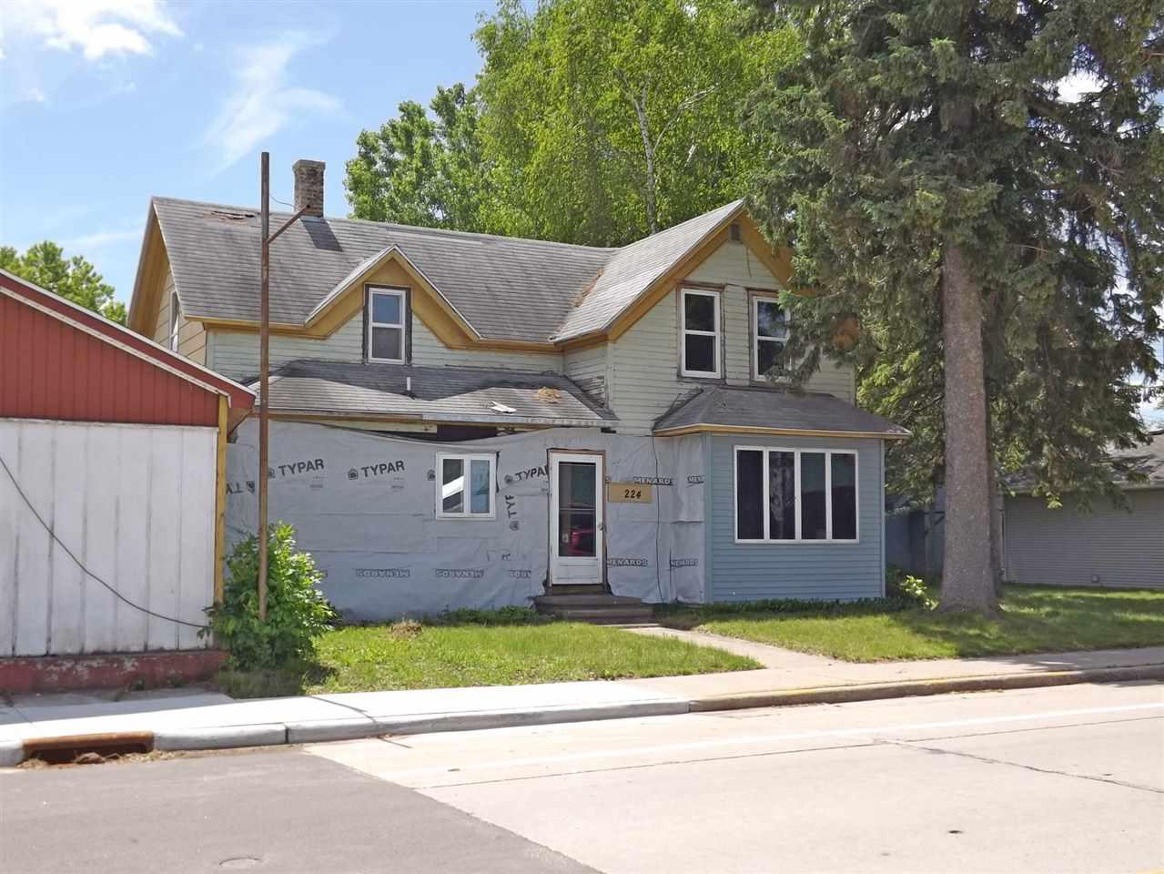 View Single-Family Home For Sale at 224 E MAIN STREET, Gillett, WI