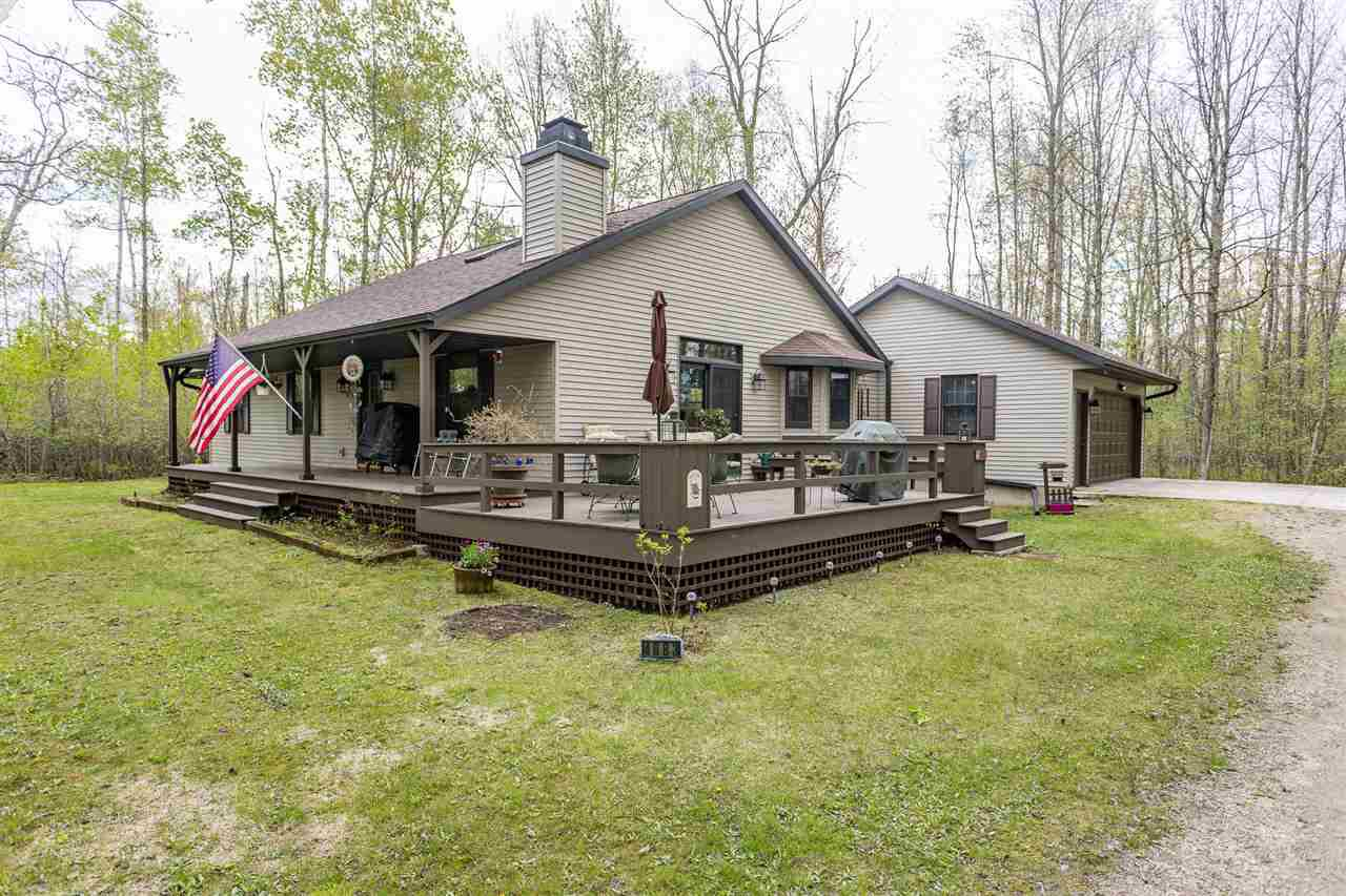 View Single-Family Home For Sale at 4883 SAMPSON ROAD, Abrams, WI