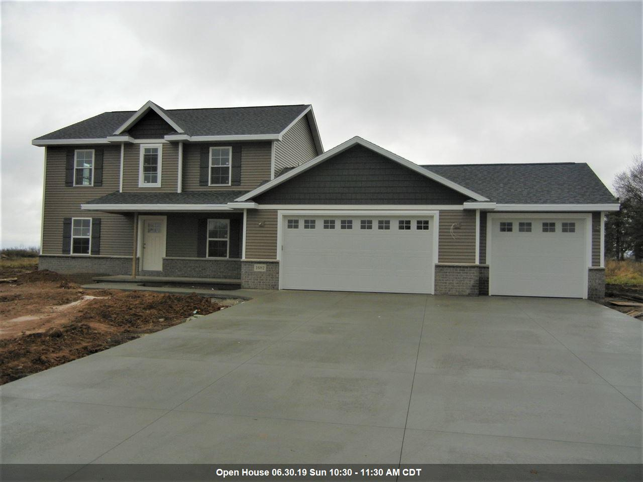 View Single-Family Home For Sale at N1682 WATERLEFE DRIVE, Greenville, WI