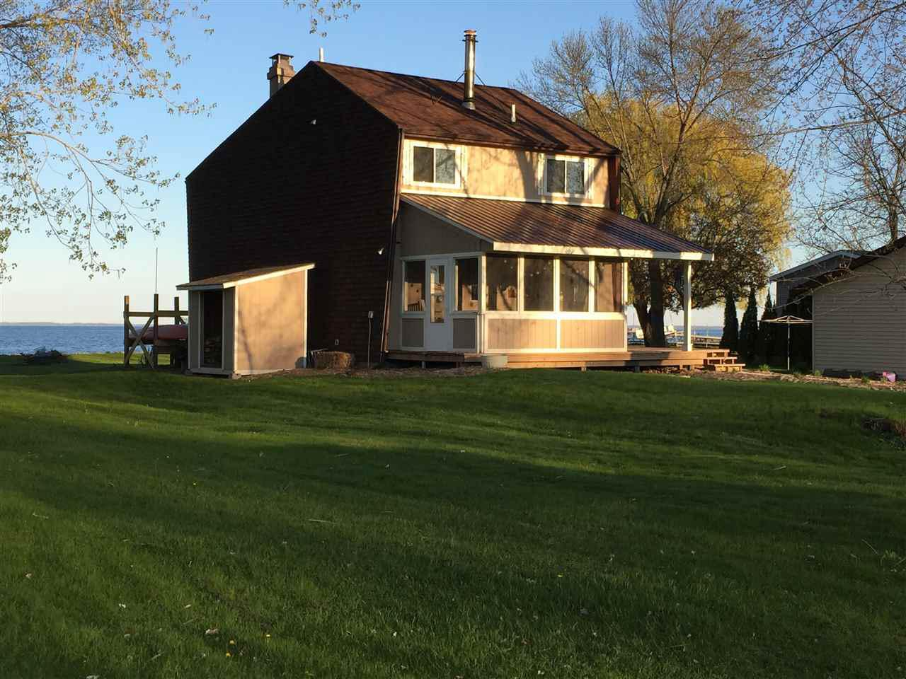 View Single-Family Home For Sale at 2830 KUNZER BEACH LANE, Little Suamico, WI