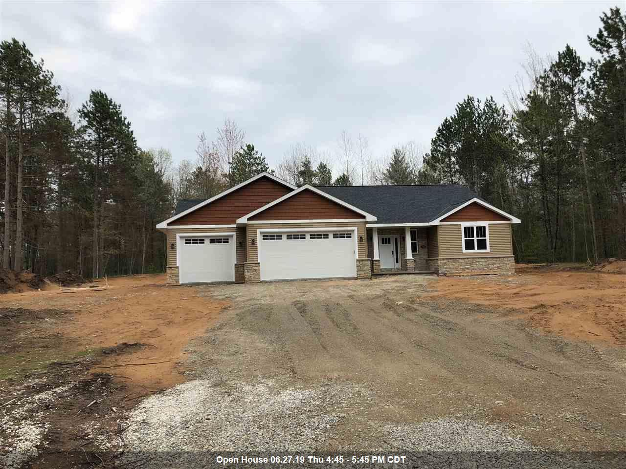 View Single-Family Home For Sale at 752 MAPLE LEAF TRAIL, Sobieski, WI