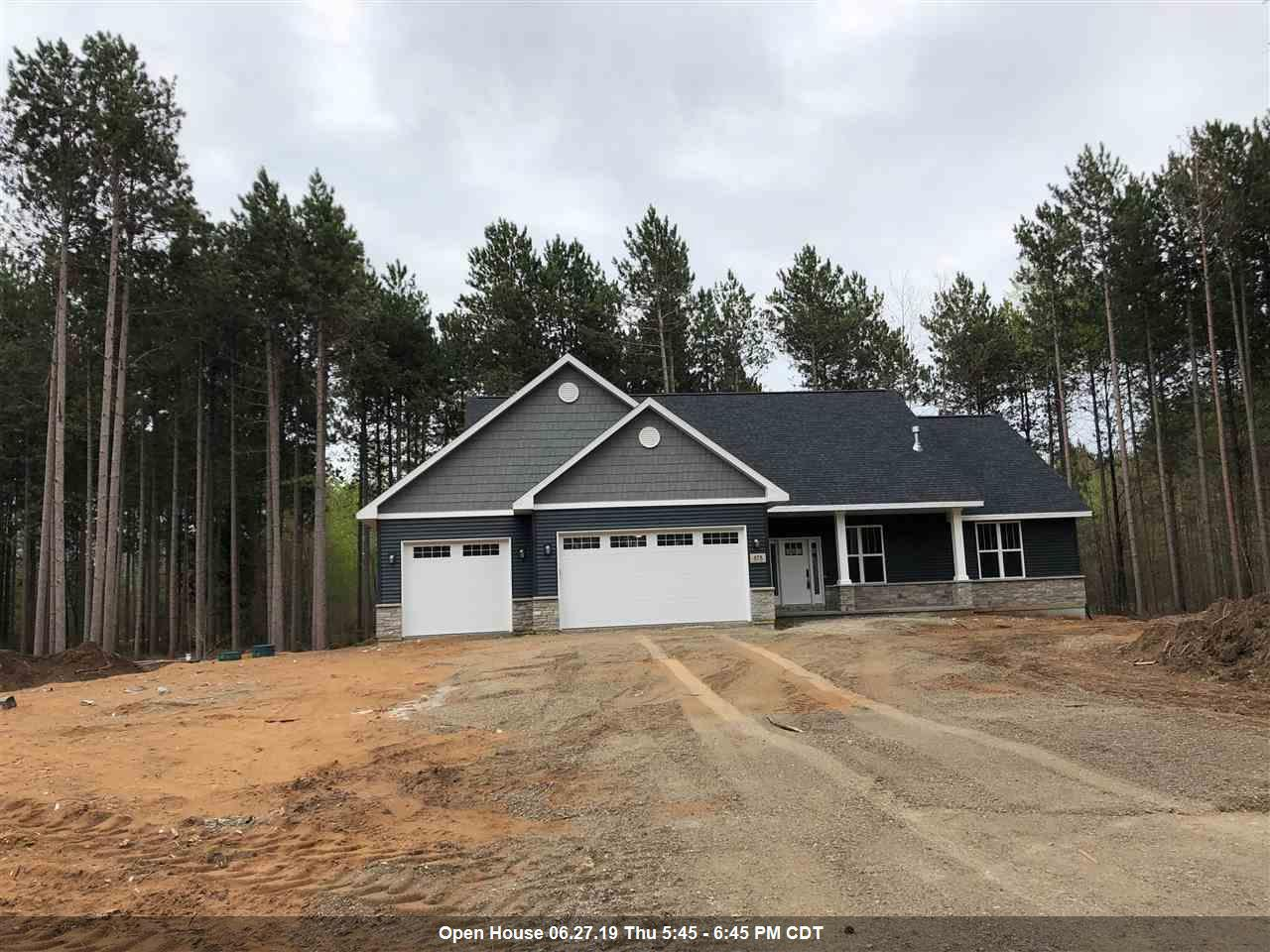 View Single-Family Home For Sale at 878 MAPLE LEAF TRAIL, Sobieski, WI