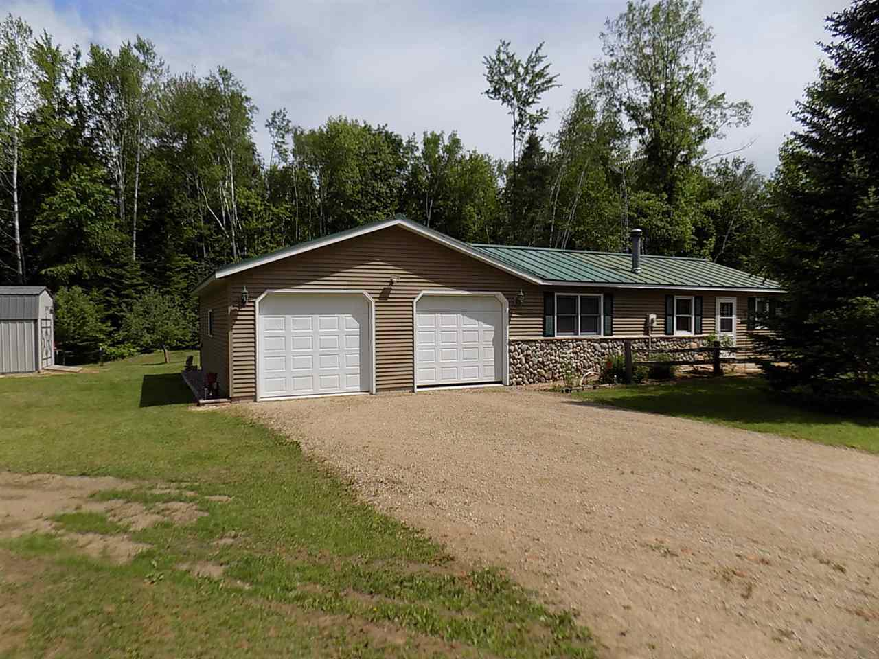 View Single-Family Home For Sale at 12870 ERB LANE, Suring, WI