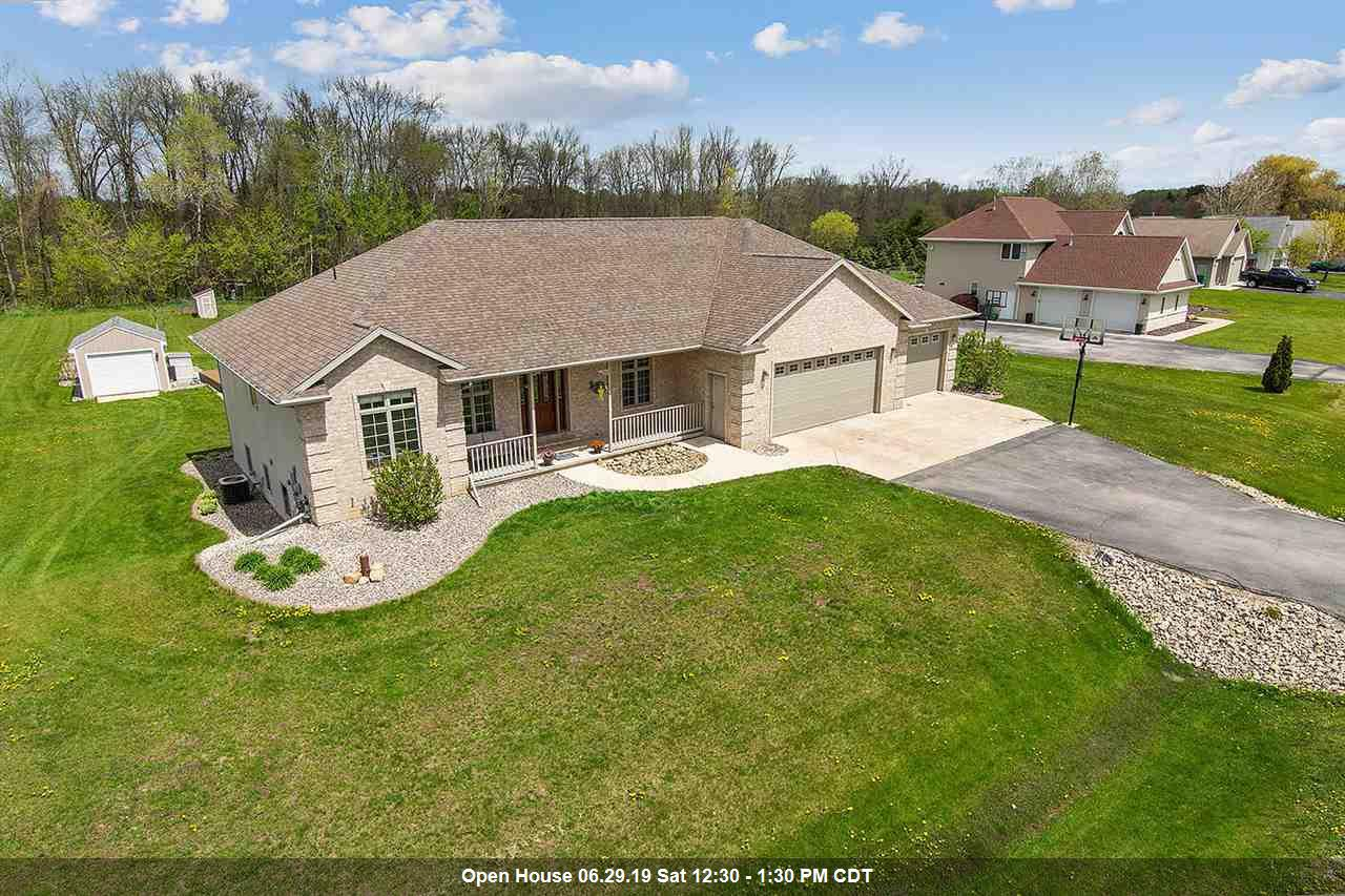 View Single-Family Home For Sale at 5802 CREEK CREST LANE, Little Suamico, WI