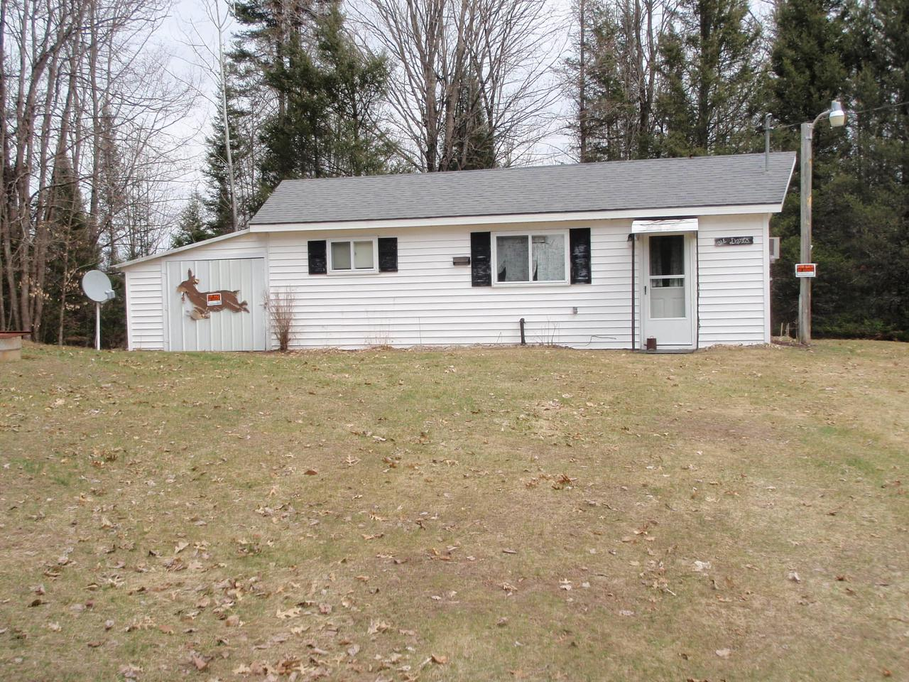 View Single-Family Home For Sale at W5248 Barchus Lane, Pembine, WI