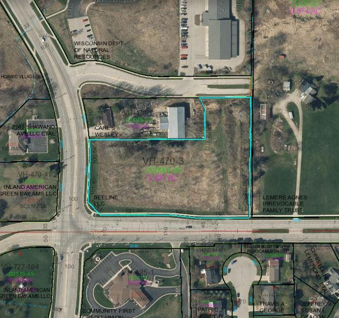 View Vacant Land For Sale at 2938 SHAWANO AVENUE, Green Bay, WI