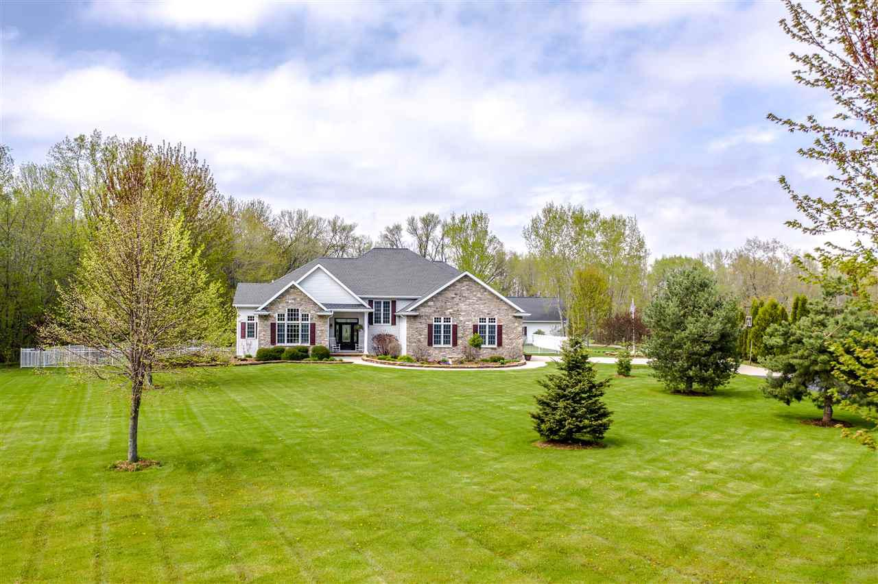 View Single-Family Home For Sale at W1088 OLD SEYMOUR ROAD, Oneida, WI