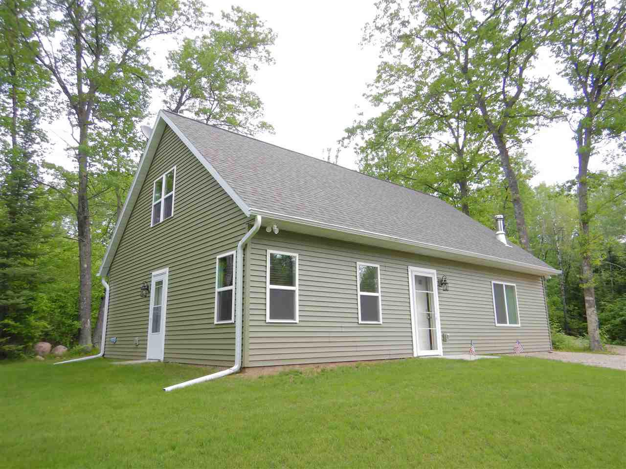 View Single-Family Home For Sale at N15171 BARTLETT ROAD, Amberg, WI