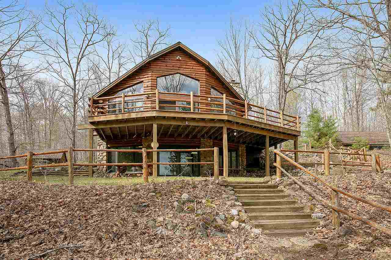 View Single-Family Home For Sale at W8960 PERCH LAKE ROAD, Wausaukee, WI