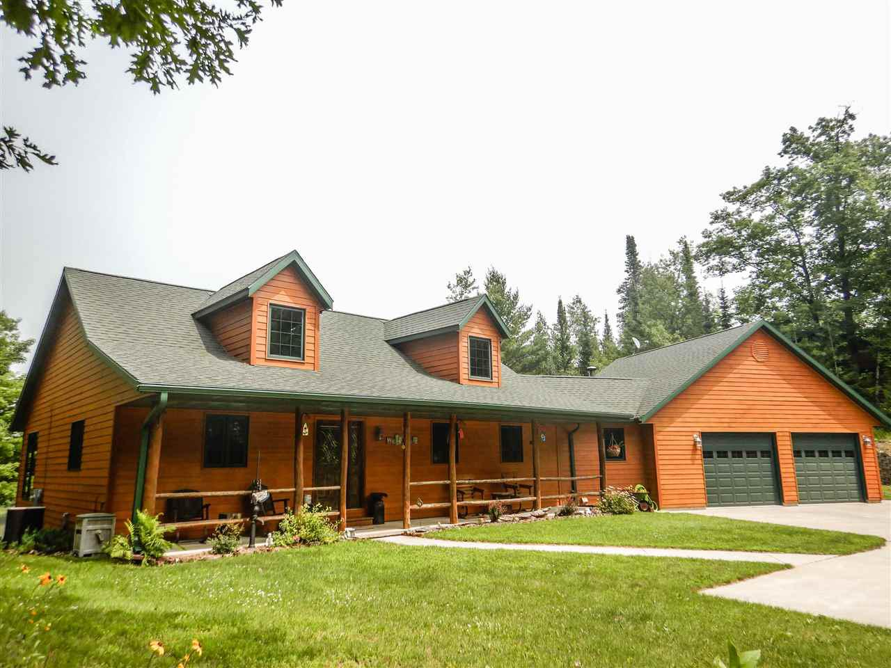 View Single-Family Home For Sale at W7074 ISLAND LAKE ROAD, Wausaukee, WI