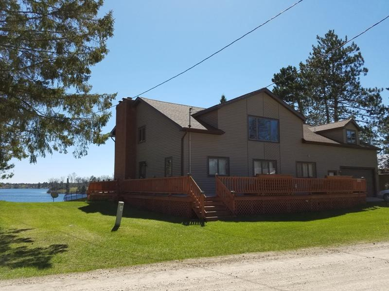 View Single-Family Home For Sale at W9473 Whispering Pines, LAKE, MI