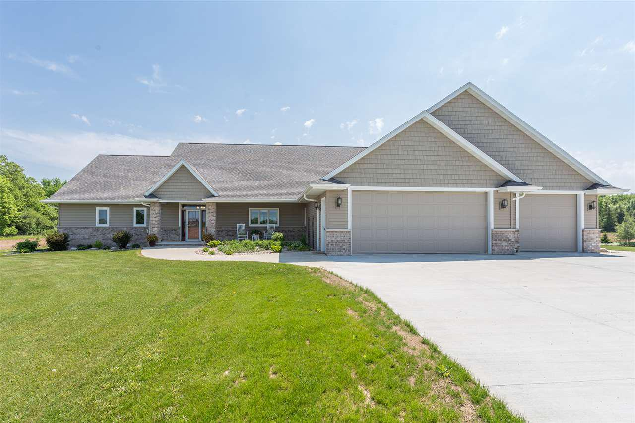 View Single-Family Home For Sale at N2280 BUCHANAN ROAD, Kaukauna, WI