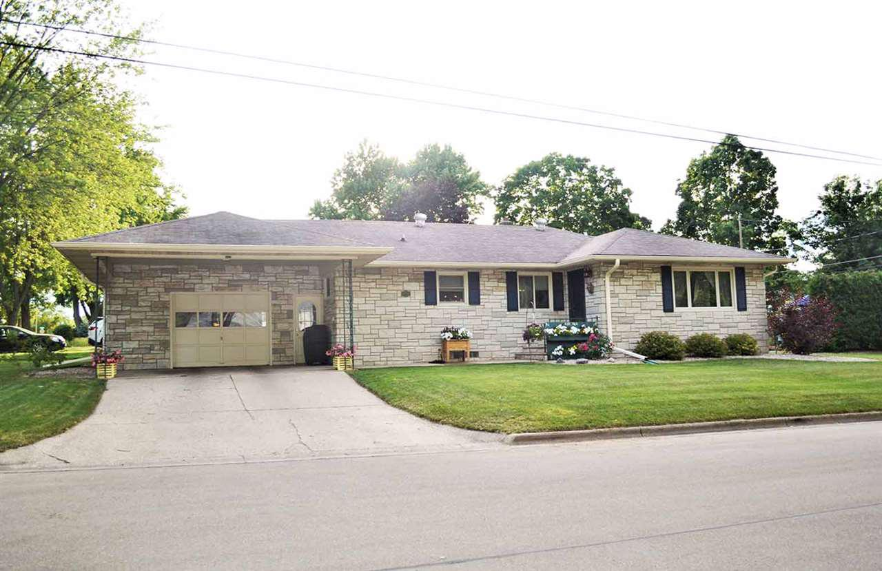 View Single-Family Home For Sale at 1415 LAWRENCE STREET, New London, WI