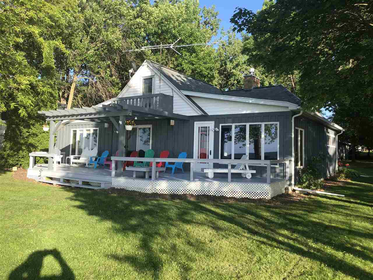 View Single-Family Home For Sale at 6153 SANDY COVE ROAD, Luxemburg, WI