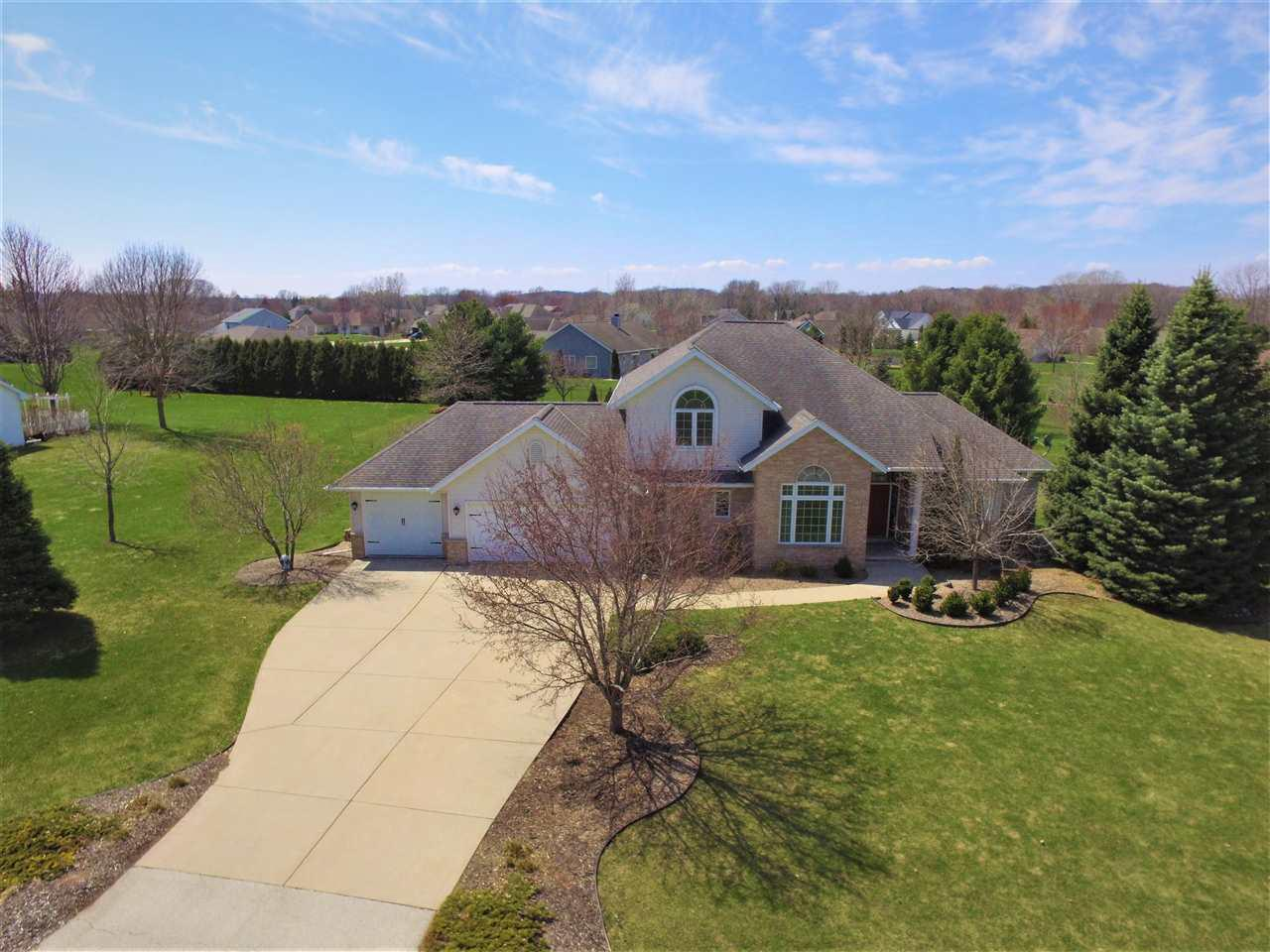 View Single-Family Home For Sale at 4317 TOUCHSTONE DRIVE, Oneida, WI