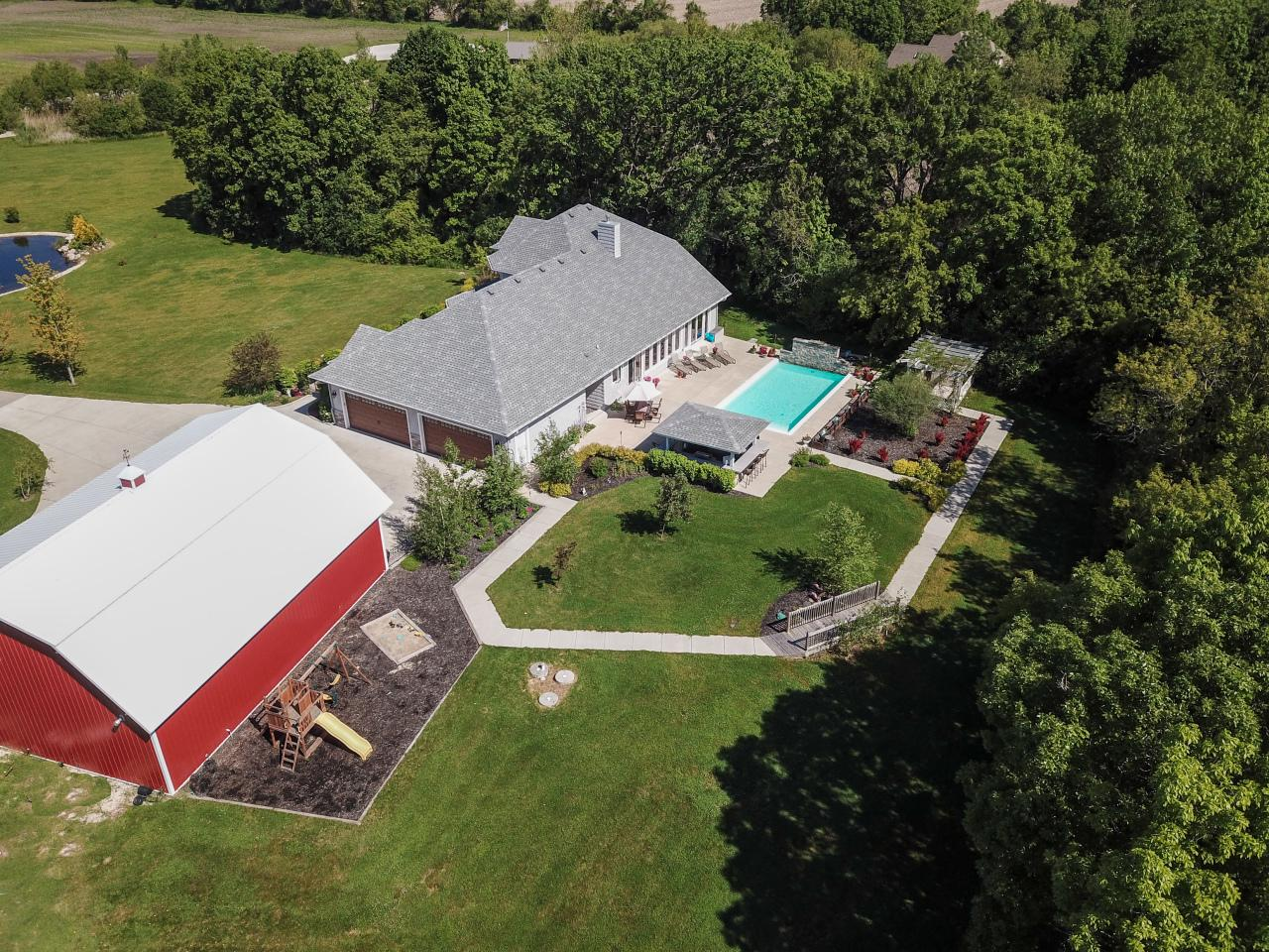 View Single-Family Home For Sale at 3663 Britton Ridge, Union Grove, WI