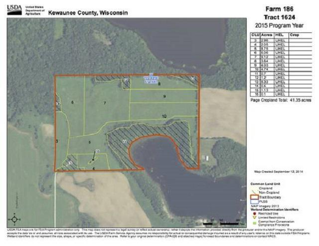 View Vacant Land For Sale at N0602 N ENGELDINGER LANE, Denmark, WI