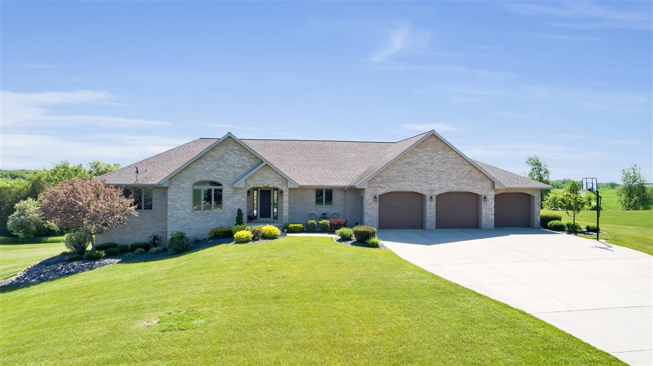 View Single-Family Home For Sale at N6560 VALLEY ROAD, Luxemburg, WI