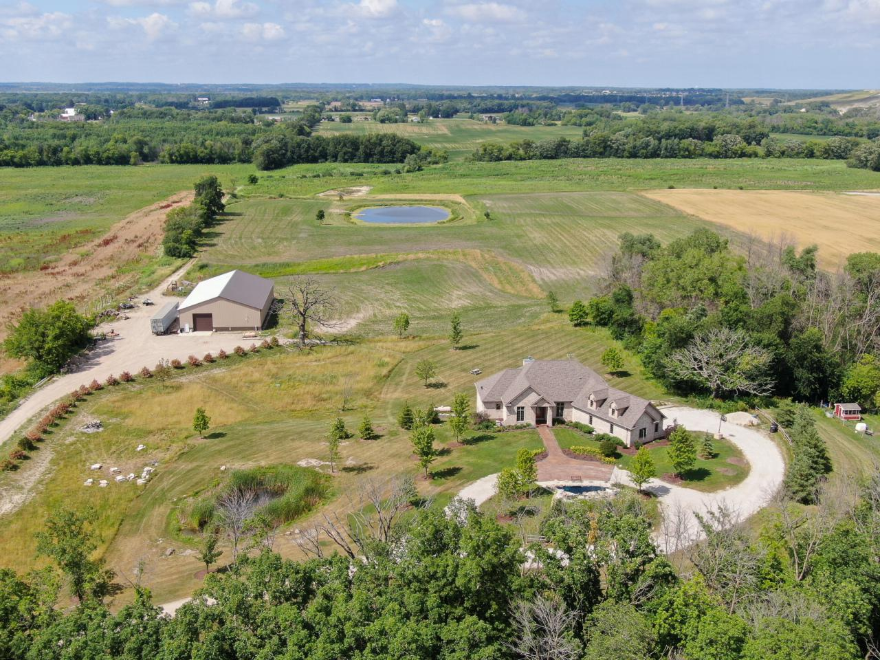 View Single-Family Home For Sale at 22218 W 7 Mile Rd, Franksville, WI