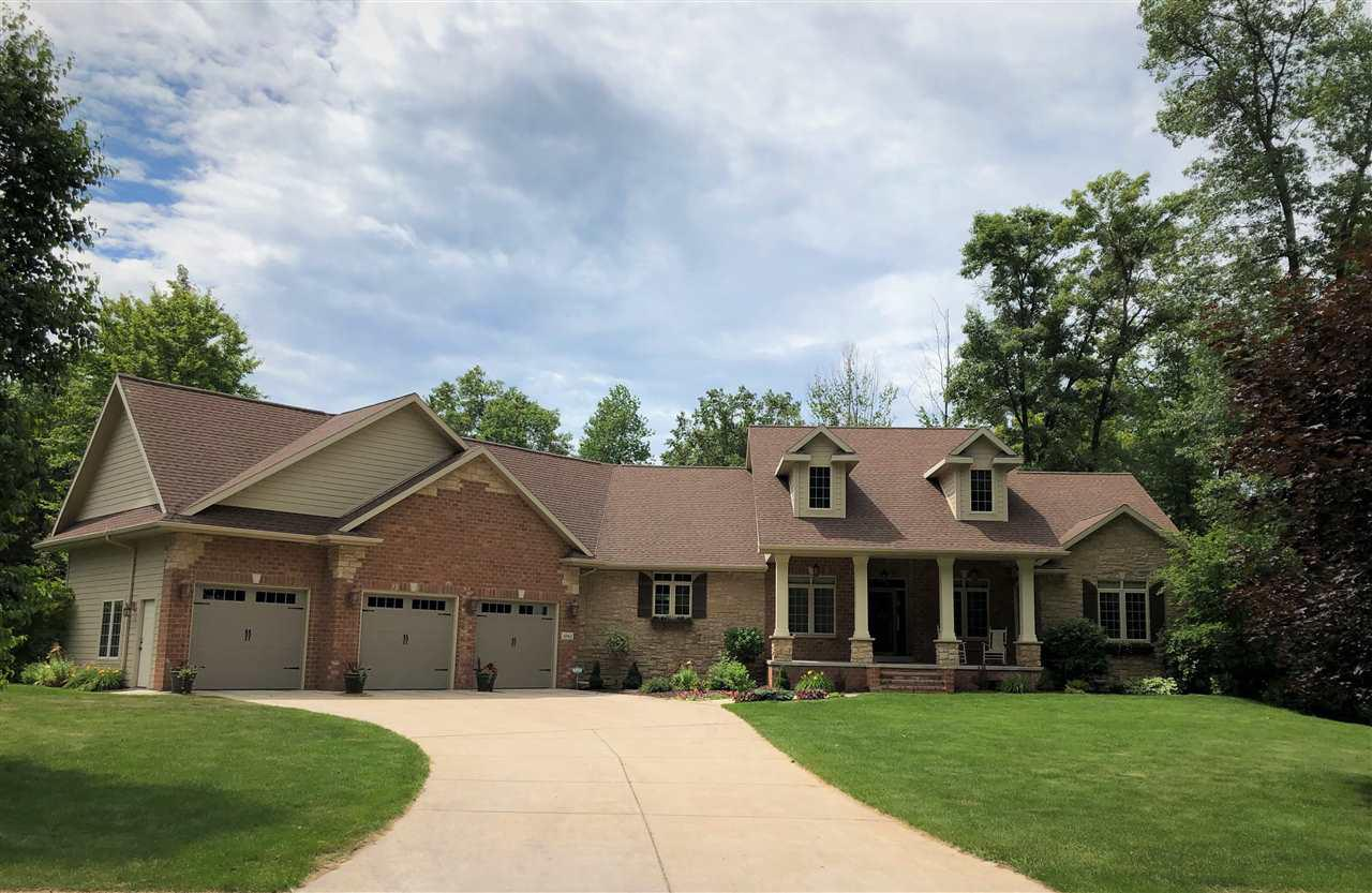 View Single-Family Home For Sale at 1043 S WYNDRUSH DRIVE, Suamico, WI